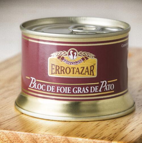 Bloc de Foie-Gras de Pato Lata 130gr