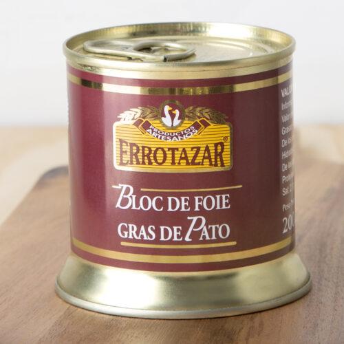 Bloc de Foie-Gras de Pato Lata 200gr