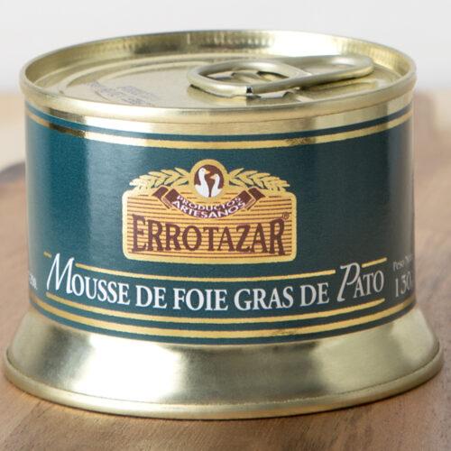Mousse de Foie-Gras de Pato. Lata 130gr