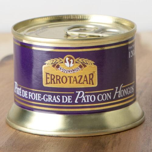 Paté de Foie-Gras con Hongos Lata 130gr