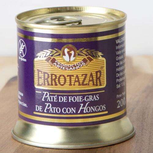 Paté de Foie-Gras con Hongos Lata 200gr